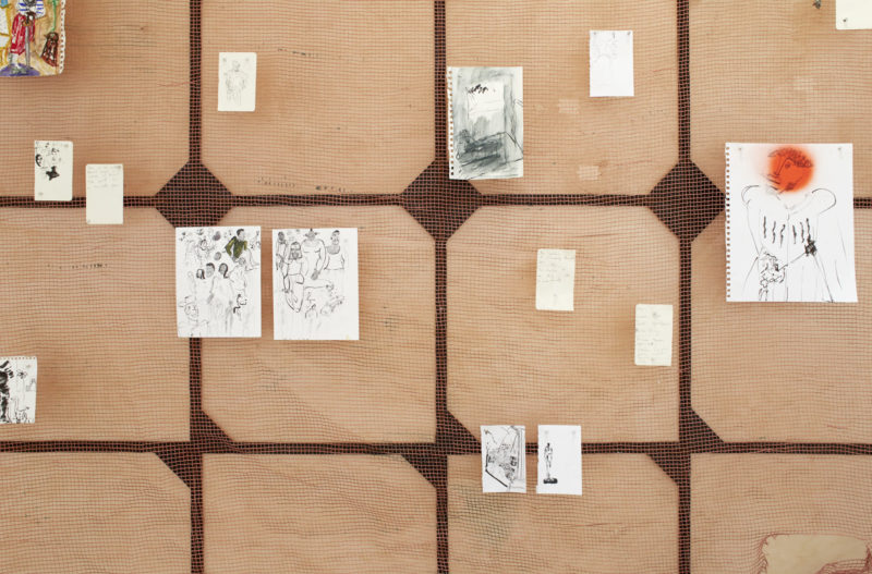 Installation view: Curtis Talwst Santiago: Can't I Alter, The Drawing Center, New York. February 20 – May 10, 2020. Photo: Martin Parsekian